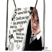 Custom its_my_chemical_romance@03- Drawstring Backpack Bag Cute Daypack Kids Satchel (Black Back) 31x40cm#180611-03-110