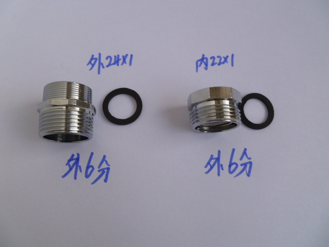 Vidric Faucet Adapter Outside 24 Turns Outside 6 Minutes Inside 22 Turns Outside 6 Points Drum Washing Machine Interface