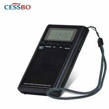 ES-300 FM/AM/SW 3 Band Mini Radio Bulit-in Good Quality Speaker Portable Mini Fm Radio Rechargeable Battery Radio Music Player цена