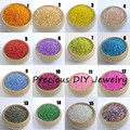19 colors 3mm 1000pcs Silver Lined Crystal Czech Seed Glass Spacer beads For Jewelry Handmade DIY Free shipping BLGY03X