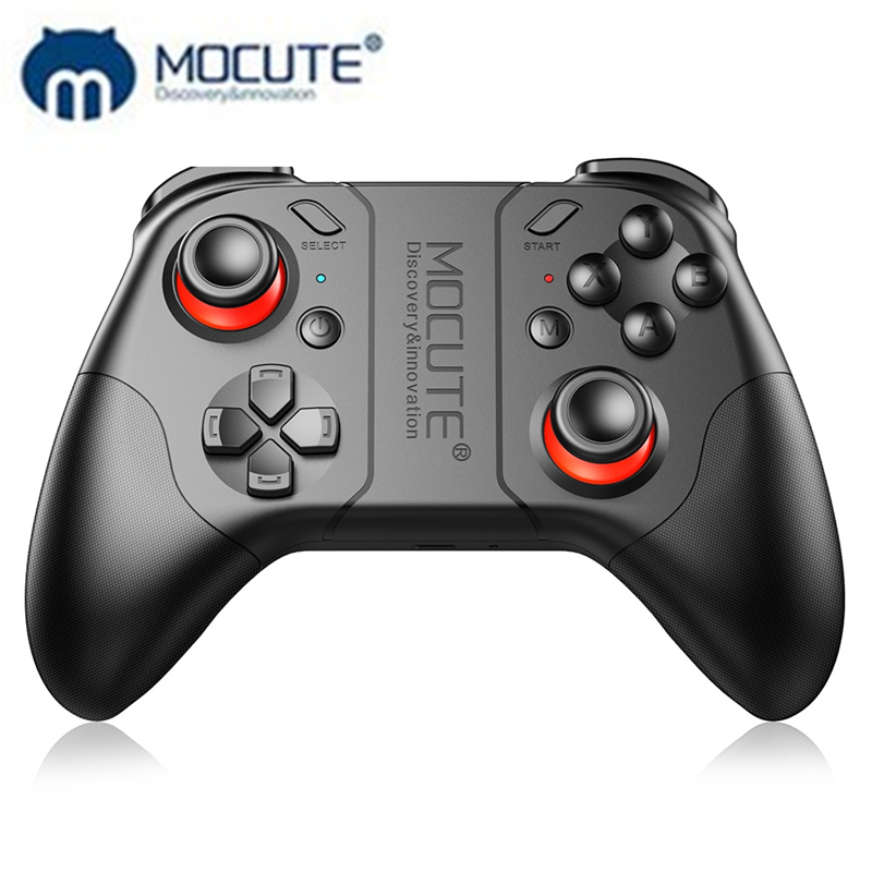 MOCUTE 053 Portable Wireless Bluetooth gamepads Selfie Remote Control Shutter Gamepad Smartphone Tablet PC gaming controller