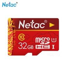 Netac P500 Micro Sd Card 32gb TF Class10 Compact Flash Memory Stick for Tablet Laptop Notebook Cartao De Memoria Tarjeta Sd