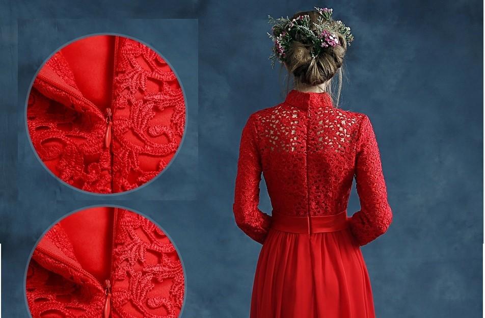 ... long sleeve lace chiffon xxxl long chinese dresses fashion cheongsam  wedding elegant evening dresses beautiful chinese 1b58134fa4fa