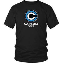 Dragon Ball Z T-Shirt - Capsule Corp Classic DBZ Gifts Free shipping