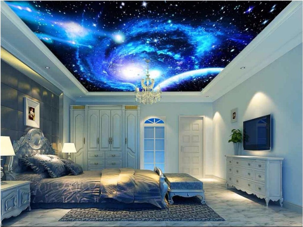 3d ceiling murals wallpaper custom photo non-woven starry sky universe planet painting 3d wall murals wallpaper for living room 60kg 132lb 400mm force 160mm long stroke auto gas spring hood lift support 400 160mm central distance m8 gas springs in springs