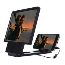 3-5 Fois Grossissement Angle-Réglable Eyeshield 3D Élargie Écran Mobile Téléphone Vidéo Fréquence Amplificateur avec Haut-Parleur