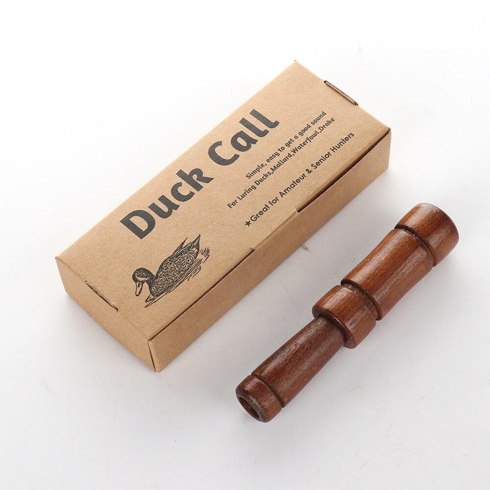 1 Piece Wood Handmade Duck Calls Outdoor Tool Duck Sound Caller Whistle