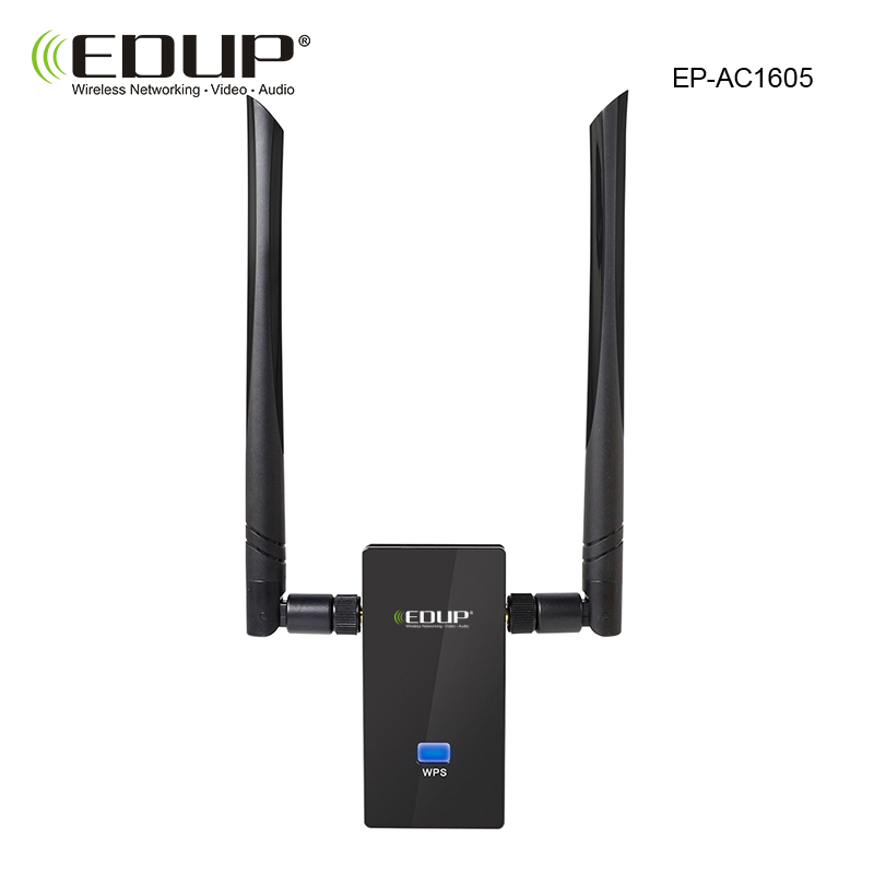 1200Mbps 2.4GHz//5GHz Wifi Repeater Dual Band USB3.0 RTL8812AU Adapter