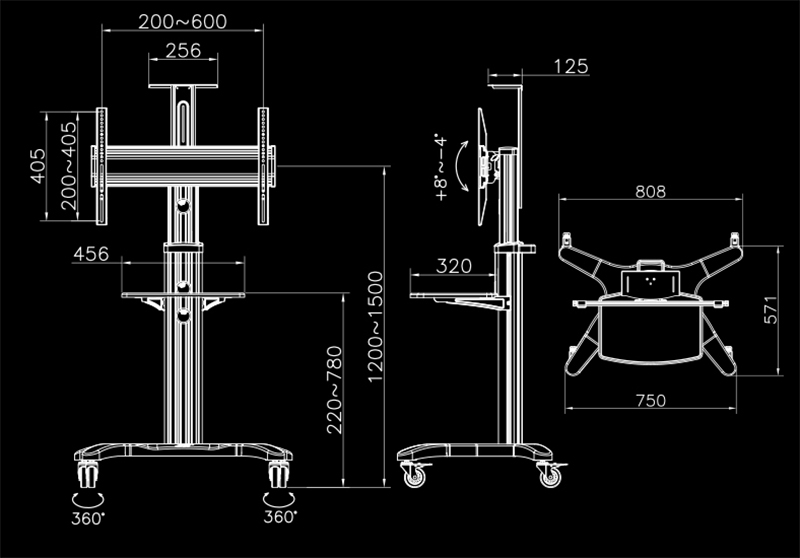 80 inch tv NB-AVF1500-50-1P