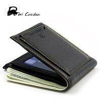 DERI CUZDAN 2017 Leather Wallet Men Luxury Brand Wallets With Card Purse Short Men S Wallet