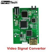Fabrika Doğrudan AHD41 4 in 1 HD Video Sinyal Dönüştürücü Kurulu AHD TVI CVI CVBS sinyal HDMI VGA CVBS sinyal dönüştürücü kurulu
