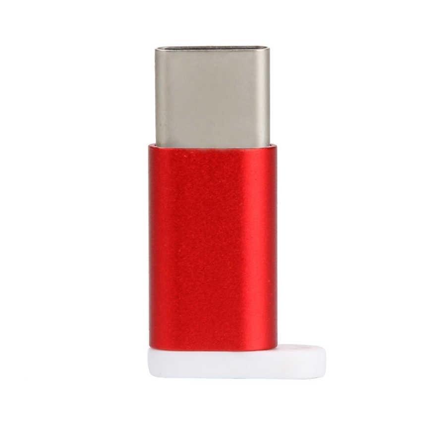 Vovotrade USB-C نوع-C إلى المصغّر usb البيانات محول الشحن لسامسونج S8 ل Oneplus 5 لهواوي P9 انخفاض الشحن