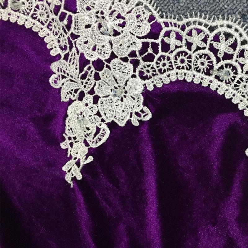 0cb97ab45f LORIE Elegant Purple Long Sleeve Prom Dresses 2018 Mermaid Plus Size ...
