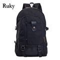 2016 Multi functional Men Leisure Fashion School Bag Backpack male Canvas bag student backpacks travel bag casual Male Backpack