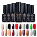 Grupo de polonia! rosalind 58 colores led uv soak-off gel laca de uñas UV Gel Esmalte de Uñas 7 ML UV GEL Para Uñas de Arte 01-30
