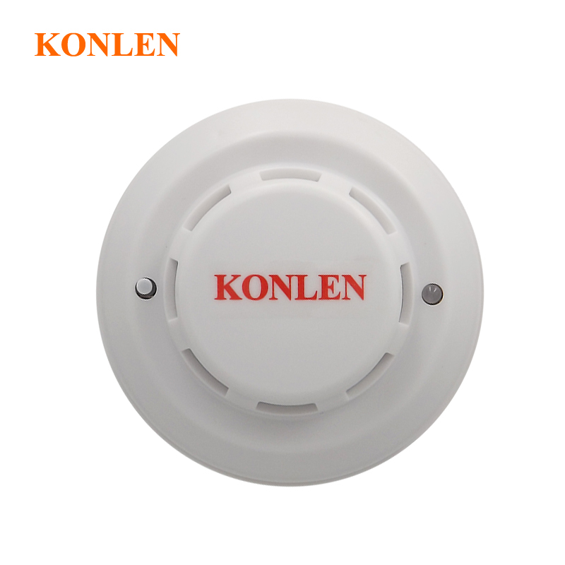 Photoelectric smoke sensor fire detector wired with NO NC output for fire smoking alarm 10pcs lot