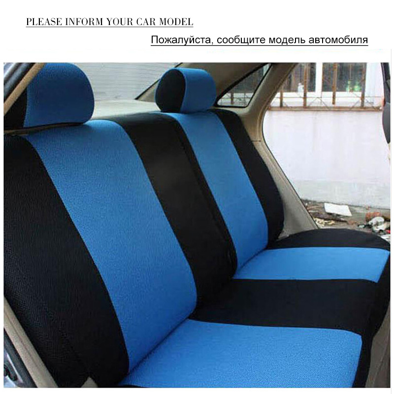 Image 5 - O SHI CAR Breathable Car Seat Cover Sandwich Mesh Material Four Seasons Universal Five seater Auto Covers Pad for Most Cars-in Automobiles Seat Covers from Automobiles & Motorcycles