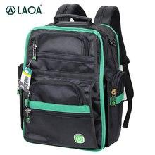 Рюкзак laoa на плечо для инструментов ранец из ткани Оксфорд