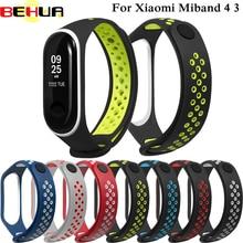 Bracelet for Xiaomi Mi Band 4 3 Sport Strap watch Silicone wrist strap For xiaomi mi band accessories bracelet Miband