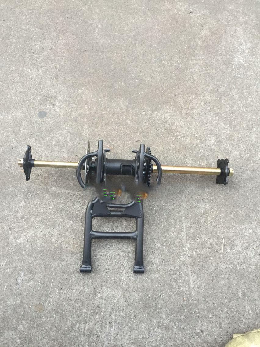 4 Wheeler Rear Axle : Popular chain drive rear axle buy cheap
