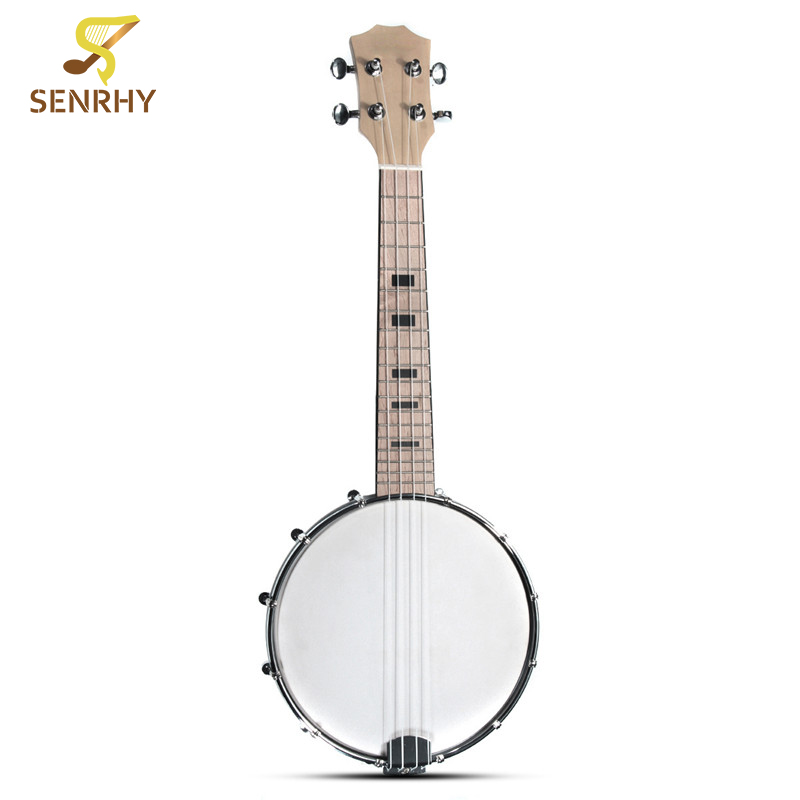 SENRHY Sapelli Electric Acoustic 4 Strings Bass Guitar Guitarra Maple Soprano Ukulele For Stringed Musical Instruments Lovers two way regulating lever acoustic classical electric guitar neck truss rod adjustment core guitar parts