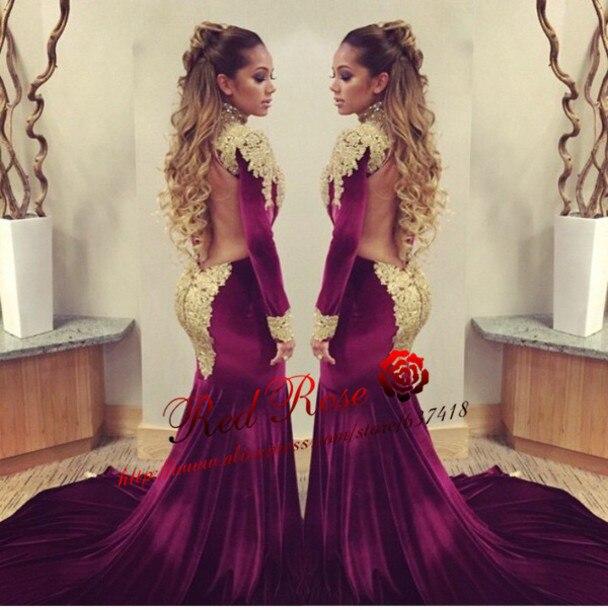 Popular Gold Burgundy Prom Dress-Buy Cheap Gold Burgundy Prom ...