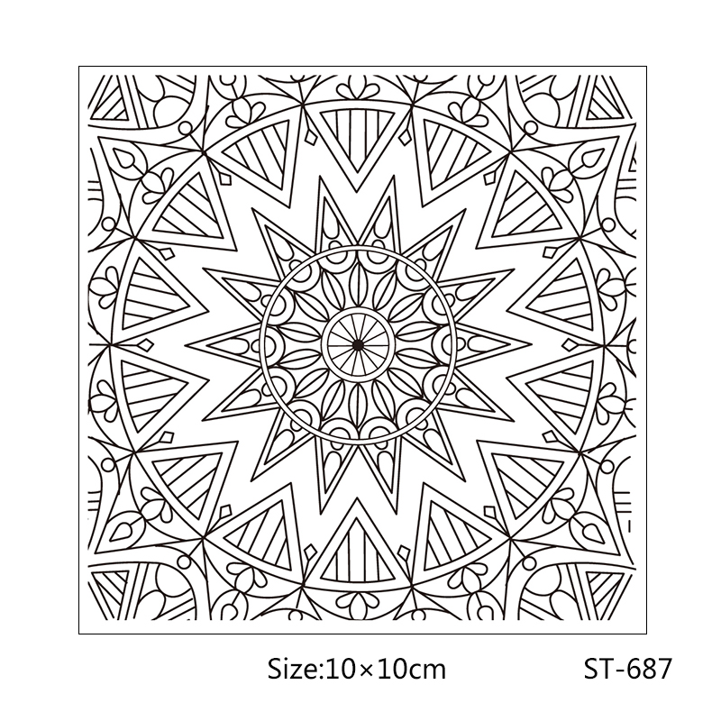 AZSG Magnificent pattern flowers style Clear Stamps/Seal For DIY Scrapbooking/Card Making/Album Decorative Rubber Stamp Crafts
