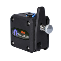 Clone 3D printer Parts Dual Gear Extruder upgrade dual gear remote for tech extruder filament remote for 3D printer MK8