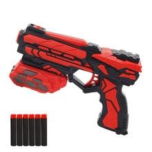 Ручной мягкий пулемет костюм для Nerf пули EVA пустотелые пули игрушечный пистолет Дротика бластер наружная игра игрушки для детей