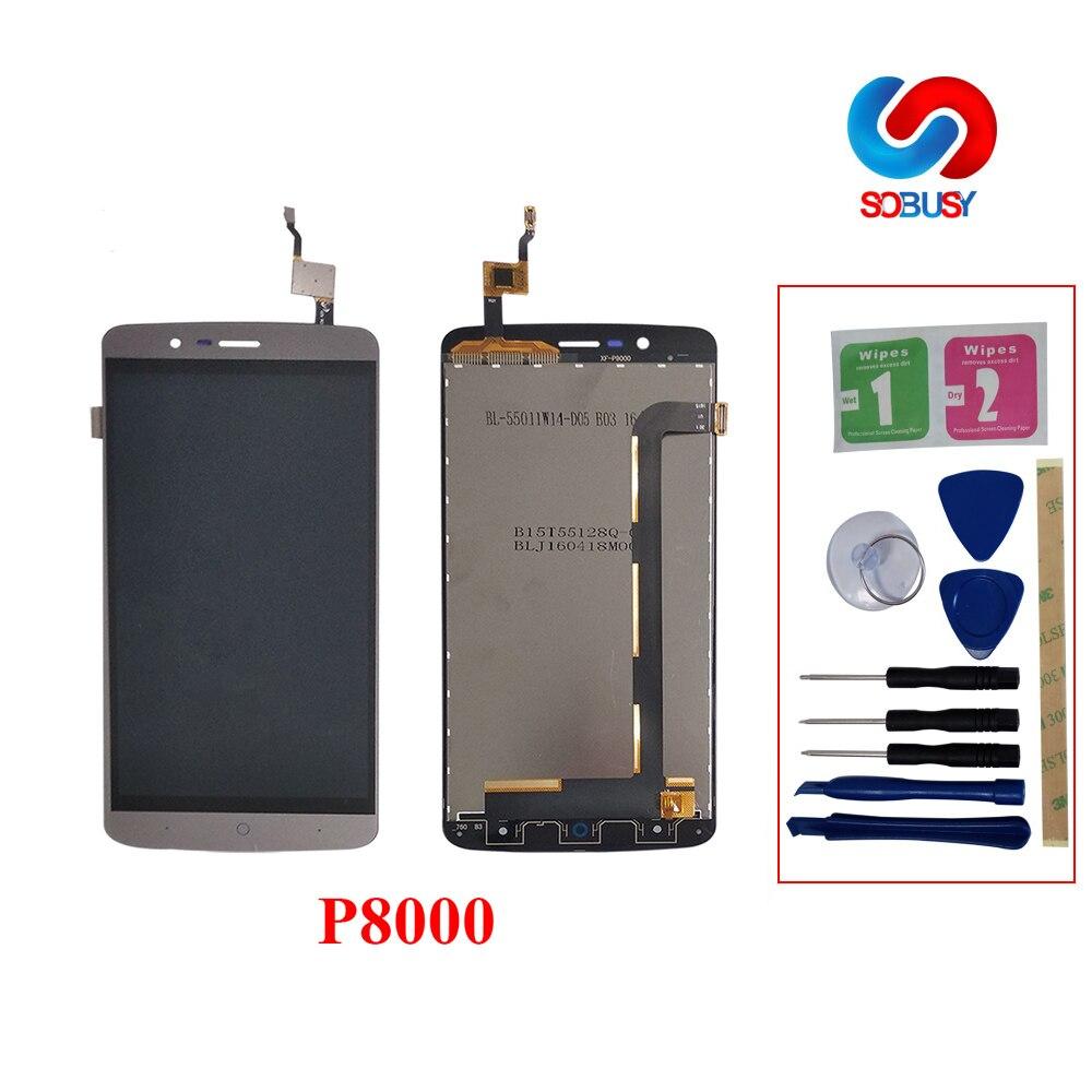 5.1 LCD Affichage Pour Elephone P8000 Android tela Écran Tactile Assemblée Pantalla Pour P8000 LCD Digitizer pantalla outils gratuits