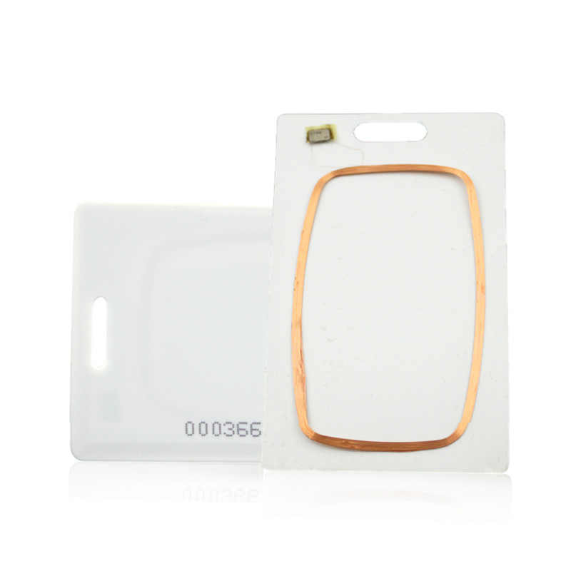 100 pz 5YOA EM4100 Badge 125 khz ID Keyfob RFID Carta Spessa Di Prossimità Porta Chave llaveros llavero