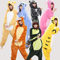 2017 New Cartoon Sleep Clothes Pajama Sets cute Novelty Home Dinosaurs Panda Cat Women Sleep Pajamas Wholesale Free Shipping