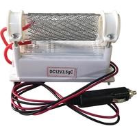 Atwfs veículo montado gerador de ozônio 12 v 3.5g purificador de ar esterilizador de ozônio de aço inoxidável tubo de quartzo ar ozonizador máquina|air ozonator|air purifier ozone|ozone sterilizer -