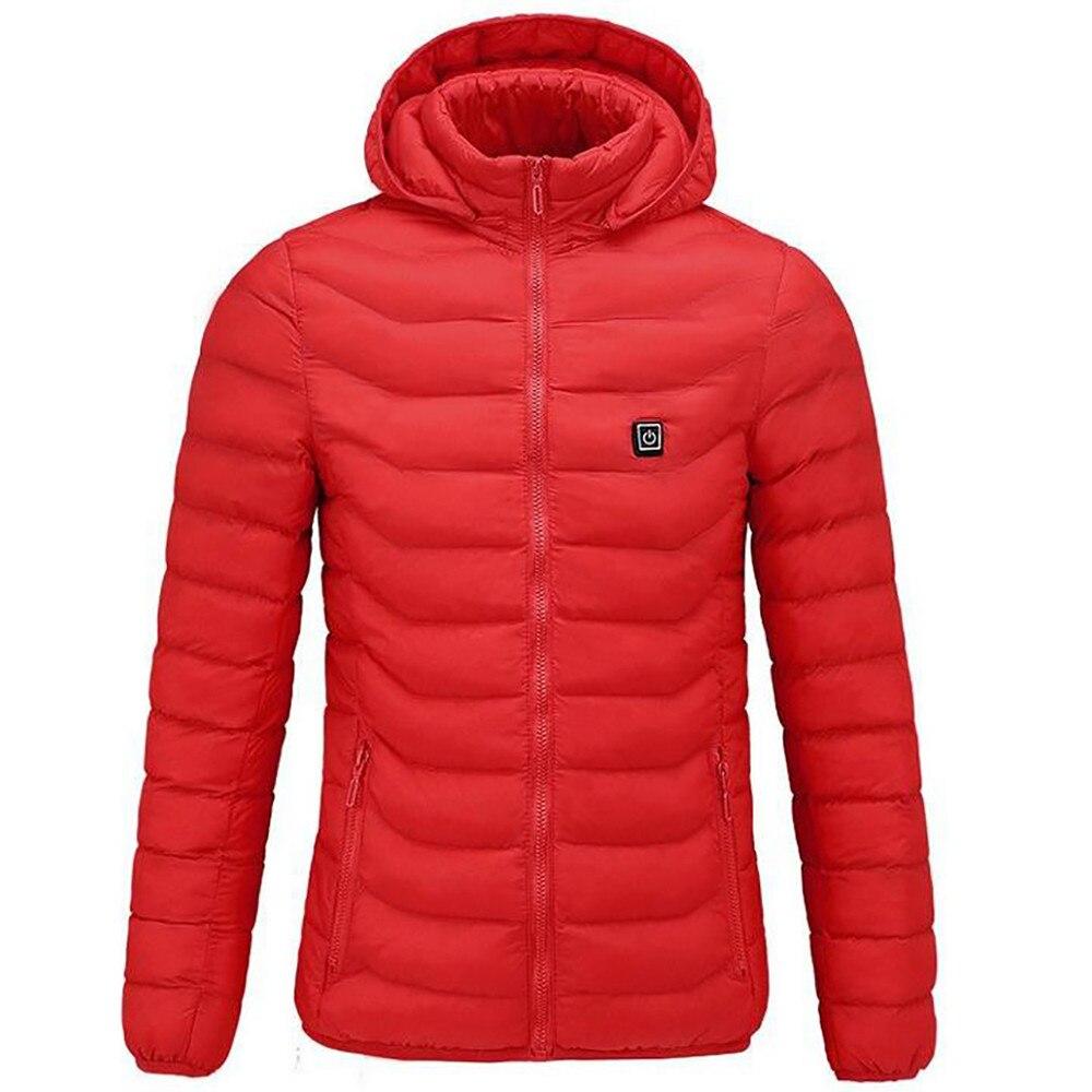 Pêche Charge Manteau De Pour Mujer En Ski Vêtements 71 L'équitation Abrigos Veste Invierno Chauds Air Hiver Via Plein Femmes Chauffée Rouge 6UxqwAxa