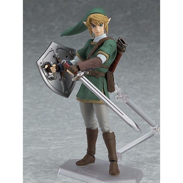 The Legend of Zelda Skyward Sword Link Figma 320 Twilight Princess Action Figure Toys Doll 4