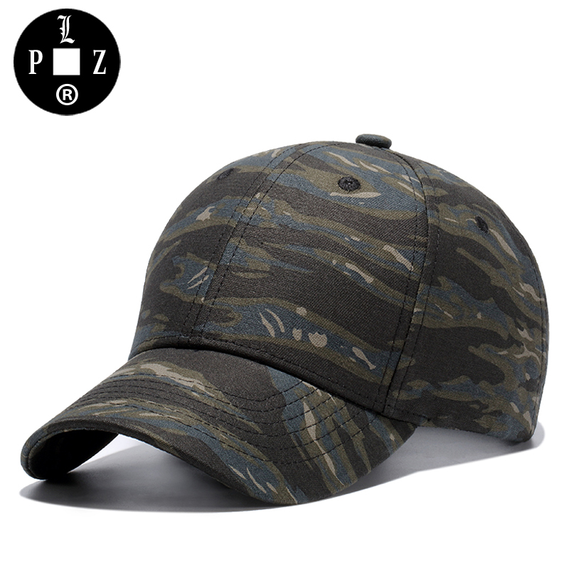 [PLZ] 2017 NEW ARRIVAL HAT Fashion Jungle Tiger Camo Baseball Cap Men Hiphop Cap Army Green Cotton Camouflage Sun hat k335 brand new fashion outdoor army camo baseball cap men women tactical sun hat letter adjustable camouflage casual snapback cap