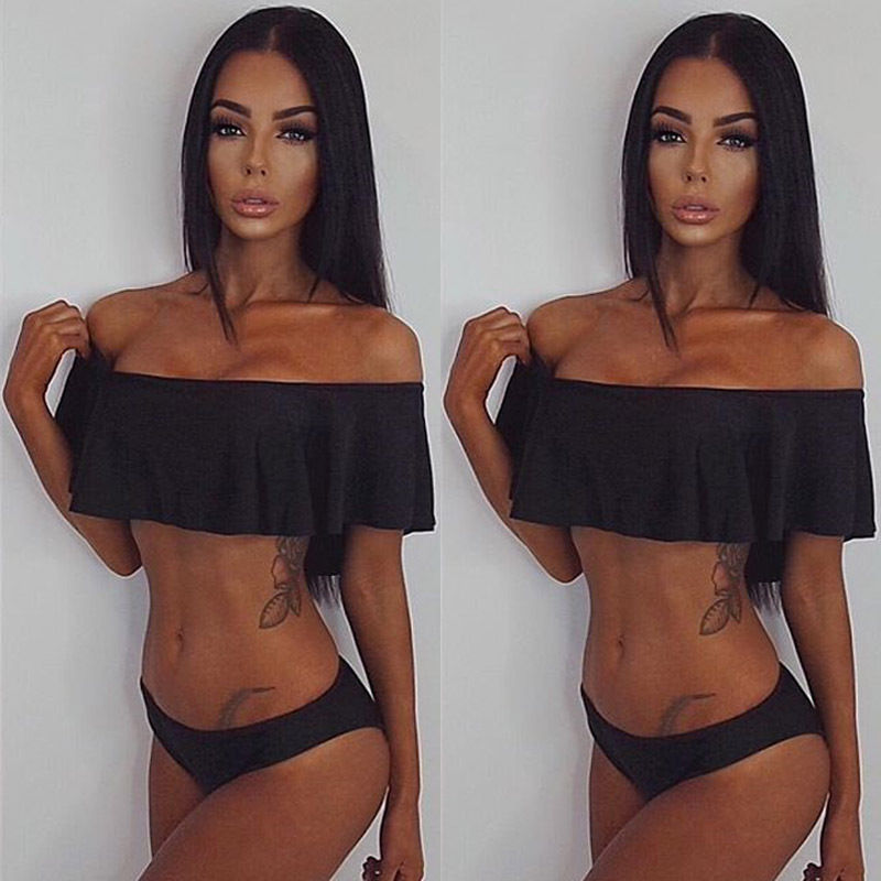2017 Female New Design Bathing Suit  Hot Sale Sexy Women Push-up Padded Bra Bandage Bikini Set Swimsuit Swimwear Summer 2016 bikini tanga summer style women sexy bandage push up biquinis padded bra bikini set swimsuit bathing suit swimwear