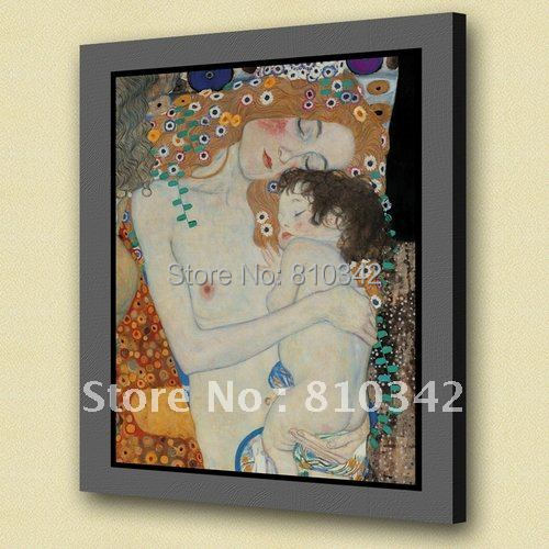 Best seller wall art reproduction famous oil painting of Gustav Klimt