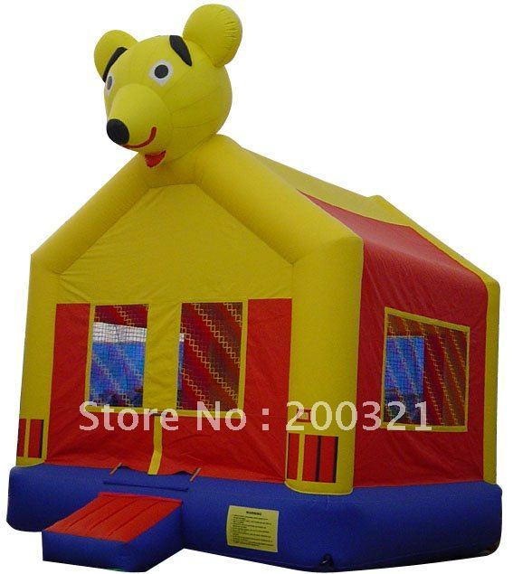 LOVELY BEAR INFLATABLE BOUNCER/ MINI INFLATABLE