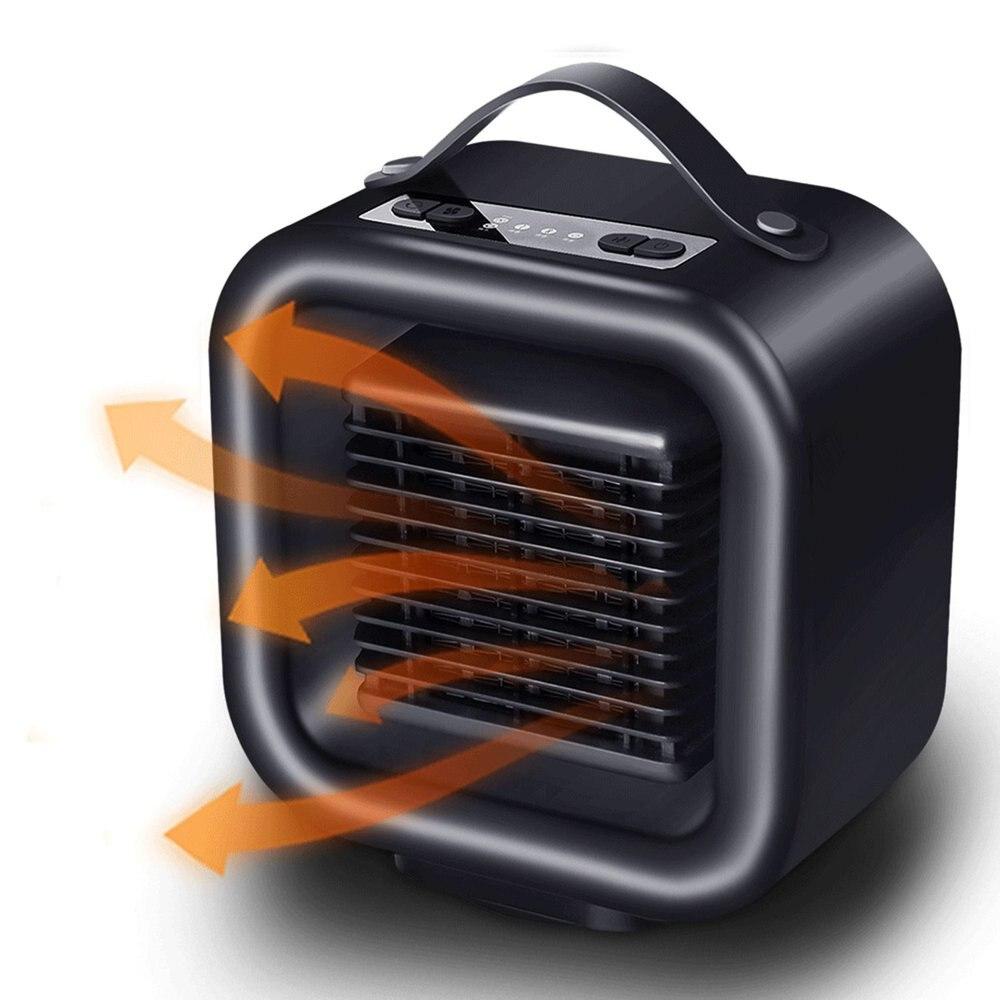 Réchauffeur portatif personnel PTC radiateur en céramique radiateur électrique ventilateur oscillant radiateur spatial pour bureau maison