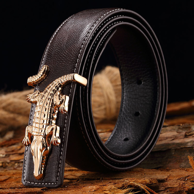 Belt 2017 Hot Fashion Cowhide Leather men belt Designer Luxury Famous High quality genuine luxury leather Belts free shipping