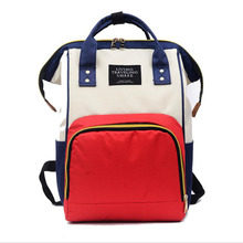 2019 new shoulder bag portable backpack multi-function Mummy bag fashion travel bag large capacity maternal and child package