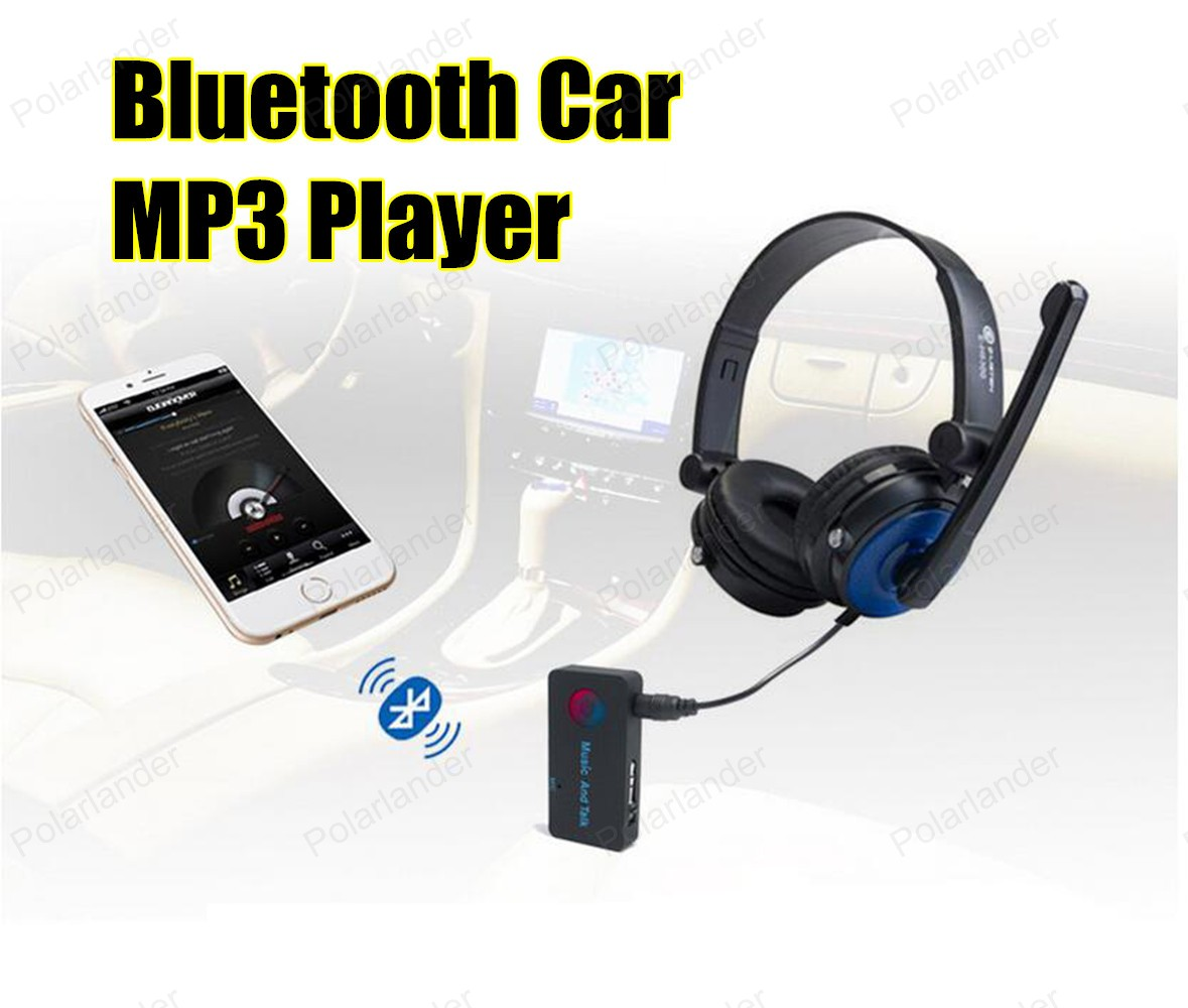 New Sale Car MP3 PlayerBluetooth FM transmitter audio modulator FM Car Handsfree LCD screen