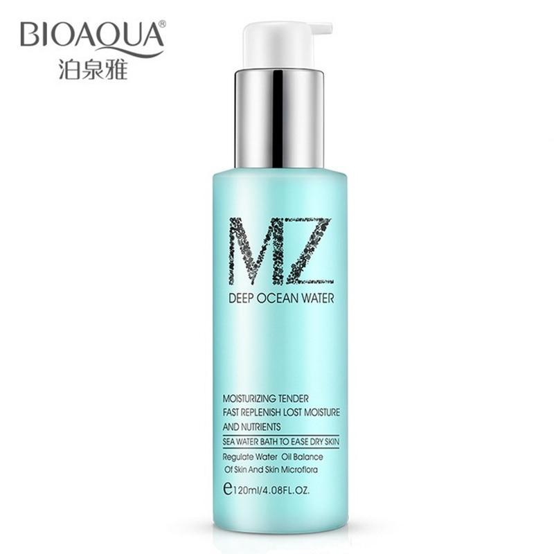 BIOAQUA Brand Skin Care Natural Ocean Water Day Cream Facial Anti Wrinkle Anti Aging Oil control Whitening Moisturizing 120ml