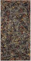 100% handmade oil painting Reproduction on linen canvas, No.5 , Jackson Pollock 's reproduction, 100% handmade,Museum Quality