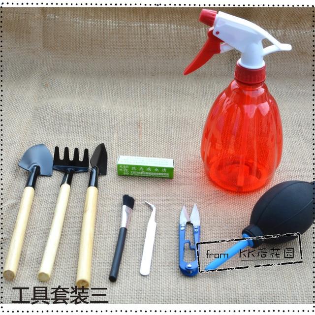 After KK garden succulents essential gardening tools suite kettle Drawing God nine three piece sets. Essential Gardening Tools