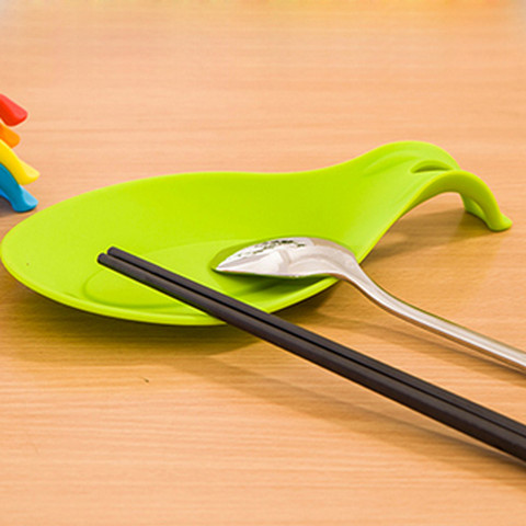 Dropshipping Spoon Mat Holder Eggbeater Heat Resistant Dish Kitchen Gadgets Silicone Pad Lahore