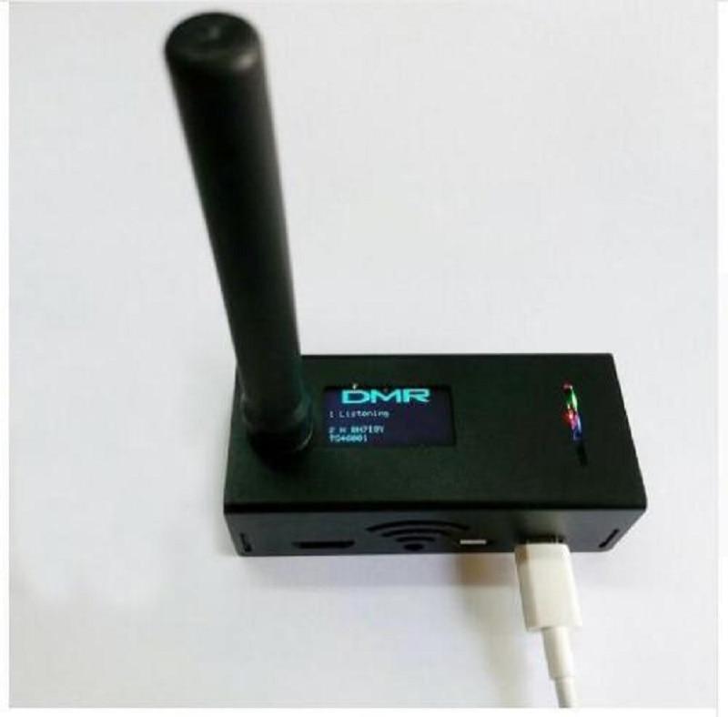 UHF et VHF MMDVM hotspot dmr hotspot mmdvm hotspot Soutien P25 DMR FSJ + Antenne + coque En Aluminium + OLED pour raspberry pi