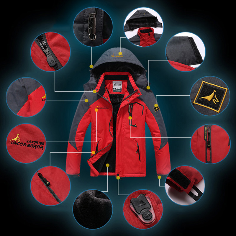 Women's Softshell Jacket Ski Suit Hiking Down Coats Waterproof Snow Snowboard Clothes Skiing Fishing Costume Female Sportswear (7)
