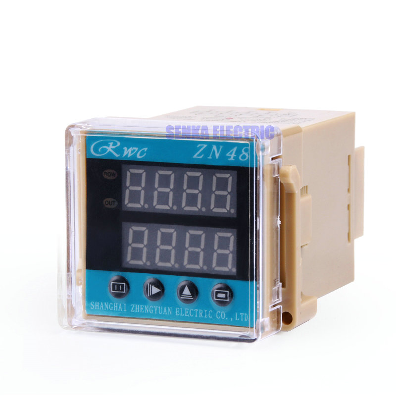 цена на Multifunction Digital Time Relay Counter AC 220V 380V DC 24V 12V Timer Counting Relay